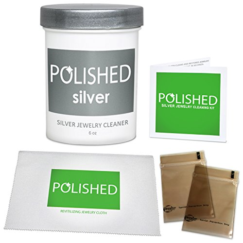 Polished silver jewelry cleaner kit professional jewelry for Jewelry cleaning kit target
