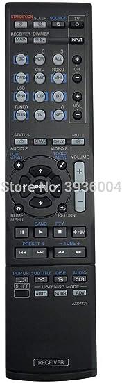 Calvas Original AXD7739 Audio Video Receiver Remote for Pioneer VSX-45 VSX-830 VSX-830-K