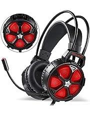 EasySMX Auriculares Gaming Estéreo con Micrófono