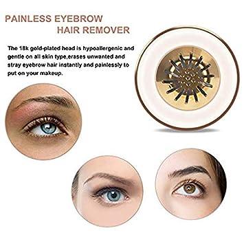Amazon.com: BEENLE depiladora de cejas sin dolor para ...