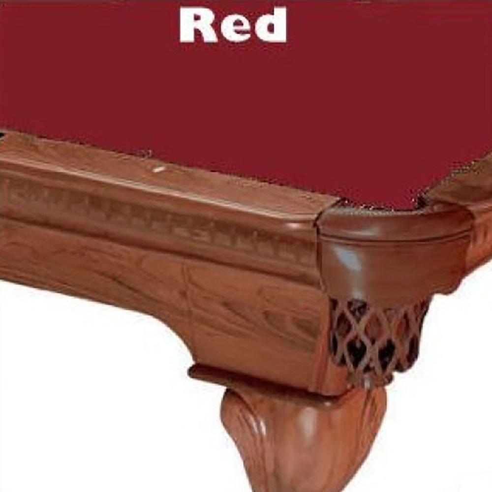 Prolineクラシック303ビリヤードPool Table Clothフェルト B00D37NXLU Clothフェルト 9 ft. レッド レッド ft. 9 ft. レッド ft., ソノーライズ(防音音響専門店):42950fbd --- m2cweb.com