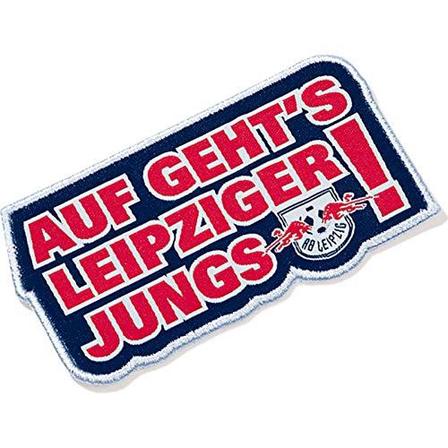 Rb Leipzig Fan Aufnäher Auf Gehts Leipziger Jungs Klein Mehrfarbig