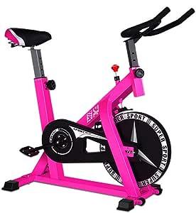 Bicicleta estática de Spinning, ejercicio en interiores ...