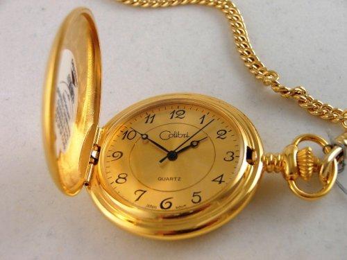 Colibri Gold Pocket Watch -
