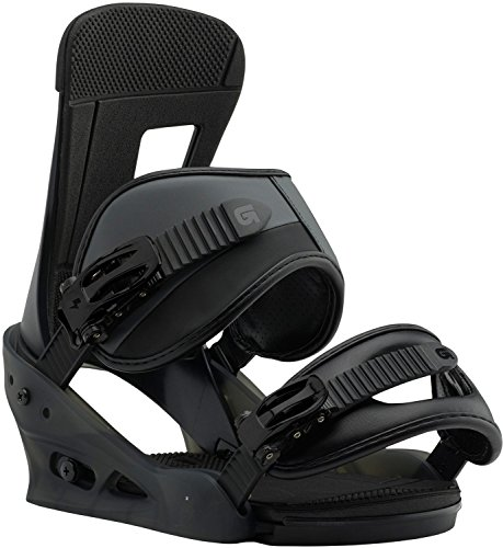 Burton Freestyle Snowboard Bindings Black Matte Sz M (8-11)