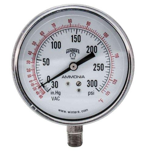 vacuum gauge hg stainless - 6