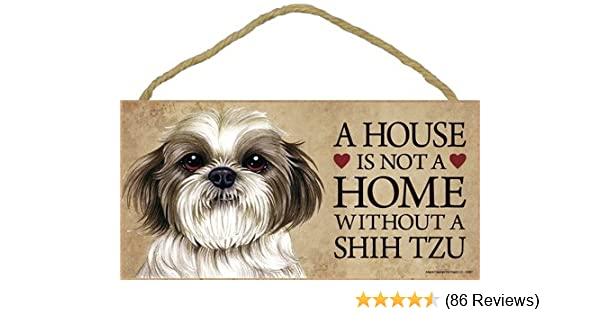 Amazoncom A House Is Not A Home Without Shih Tzu Puppy Cut