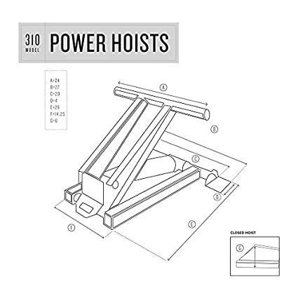 Power Hoist 310 Dump Trailer Kits Amazon Com Industrial Scientific