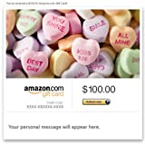 Amazon eGift Card - Valentine's Day (Candy Hearts)