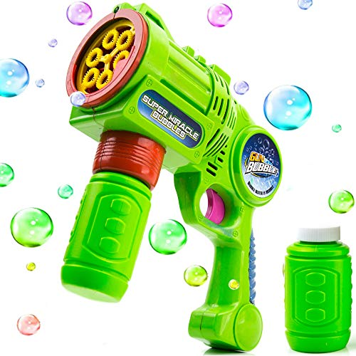 Toysery Bubble Gun | Thousands of Bubbles in Minutes | Ultimate Fun for Kids | Simple to Operate | Safety and Environmental Protection for Kids