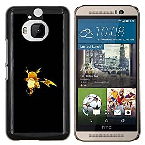 "Be-Star Único Patrón Plástico Duro Fundas Cover Cubre Hard Case Cover Para HTC One M9+ / M9 Plus (Not M9) ( P1Kachu P0kemon"" )"