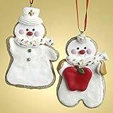 Roman Club Pack of 12 Nurse & Teacher Cookie Thank You Gift Christmas Ornaments #26706