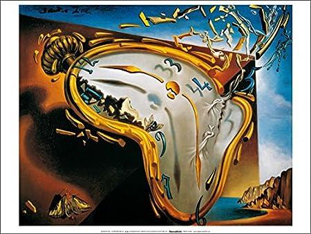 1art1® Salvador Dali - Relojes Blandos Póster Impresión Artística (70 x 50cm): Amazon.es: Hogar