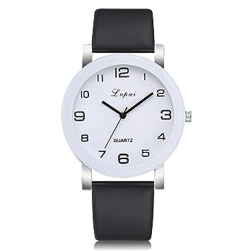 Amazon.com: paymenow reloj de mujer de cuarzo reloj de ...