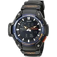 Men's SGW-450H-2BCF Twin Sensor Analog-Digital Black Watch