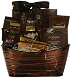Godiva Chocolatier Gift Basket – New Assortment For 2016 Holiday Season – Special Select Chocolates With Improved Product Protective Packaging – Damage-Free Guarantee