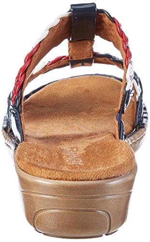 iii Marine Blau Jenny Korsika Mujer Mules Blau qxPAWC1aw