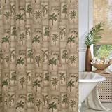 Tree Shower Curtain Palm Tree Shower Curtain