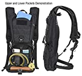 MARCHWAY Tactical Molle Hydration Pack Backpack