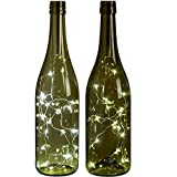 Wine String Lights,15 LED Omiky® Bottle Glass Fairy Starry Led Lights Rope Lamp Light Striking Backdrops for Wedding Christmas Garden Party (Sliver)
