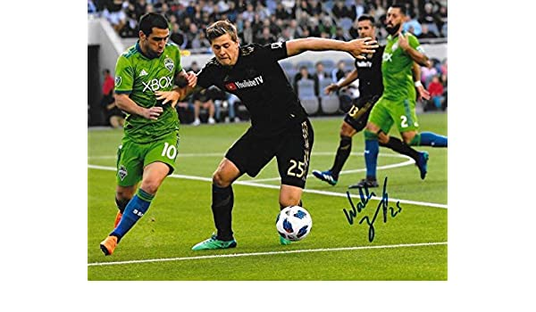 0f3ea7fdd Walker Zimmerman Autographed Photo - Club LAFC 8x10 MLS 3 - Autographed  Soccer Photos at Amazon s Sports Collectibles Store