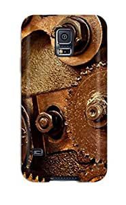 Tpu Fashionable Design Gears Man Made Rugged Case Cover For Galaxy S5 New