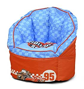 disney cars toddler bean bag chair red toys games. Black Bedroom Furniture Sets. Home Design Ideas