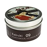 Margot Elena Tokyo Milk Kabuki Crushed and Distilled Tin Travel Candle, Delightful Fragrance, 0.22 Ounce