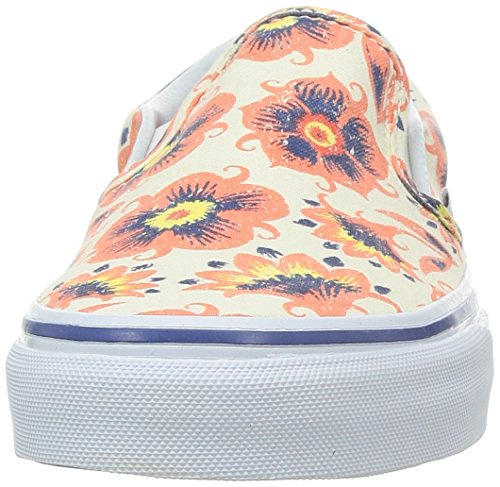 Erwachsene Sneakers Vans Classic Weiß Slip U Unisex Orange on BWZcqAXZa