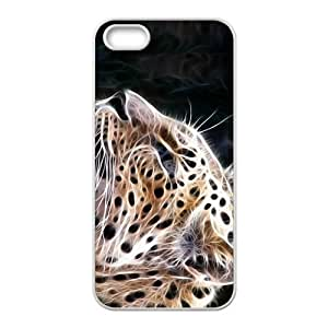 Abstract Leopard Custom Protective Hard Phone Cae For Iphone 5s