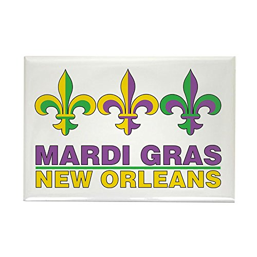 CafePress Mardi Gras Rectangle Magnet Rectangle Magnet, 2