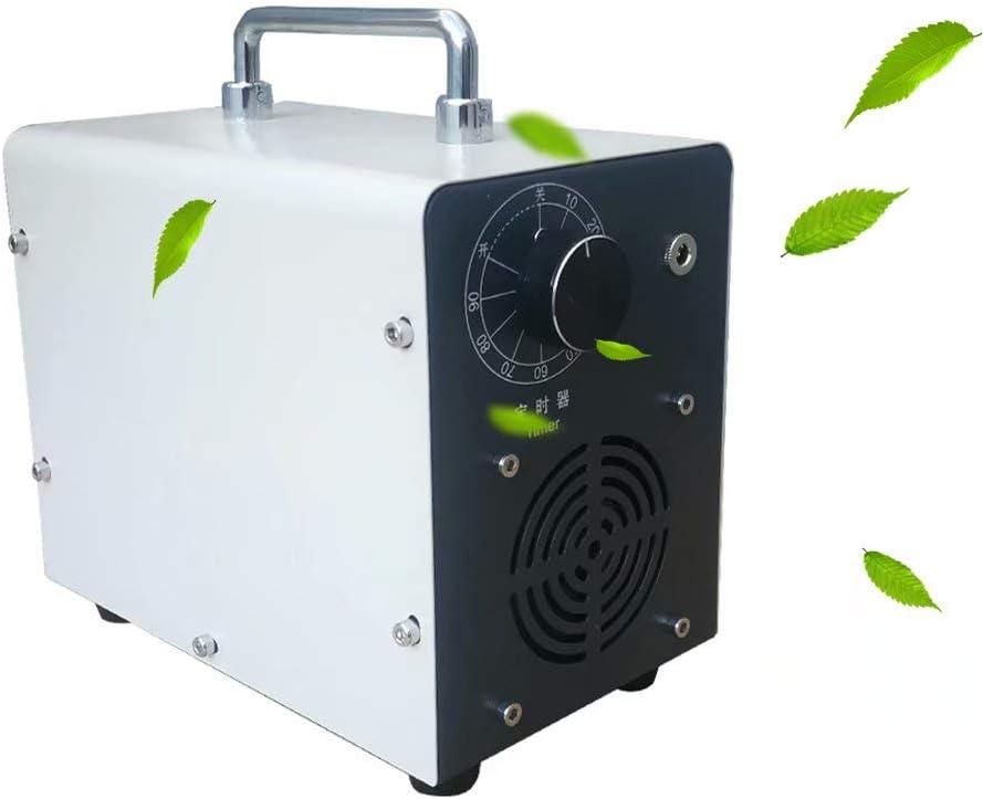 Godmoy Generador de ozono Portátil 5000 MG/h Esterilizador Ozonizador Purificador de Aire, Esterilizador de purificador de Coche Limpiador de Aire de Frutas y Verduras para Mascotas, Automóvil, Hogar