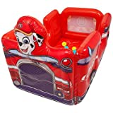 Paw Patrol Marshall Inflatable Vehicle Ball Pit with 15 Balls