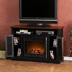 SEI Antebellum Media Console with Electric Fireplace by Southern Enterprises, Inc.