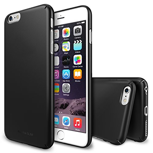 iPhone 6 Plus Case, Ringke [Slim] Lightweight Cover w/ Screen Protector [Snug-Fit]...