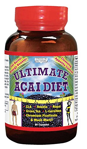 Diet Acai (Only Natural Ultimate Acai Diet, 90-Count (Packaging may vary))