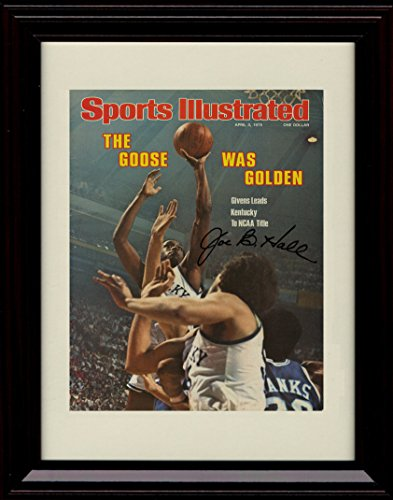 Champ Autograph - Framed Kentucky Wildcat Championship Sports Illustrated Autograph Replica Print - 1978 Champs!