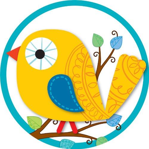 (Carson Dellosa Boho Birds Two-Sided Decoration (188039) )