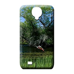 samsung galaxy s4 Protection Bumper Scratch-proof Protection Cases Covers mobile phone carrying skins mallards pond