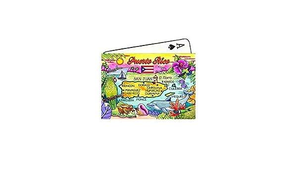 Porto Rico Carte Souvenir de collection de cartes à jouer ...
