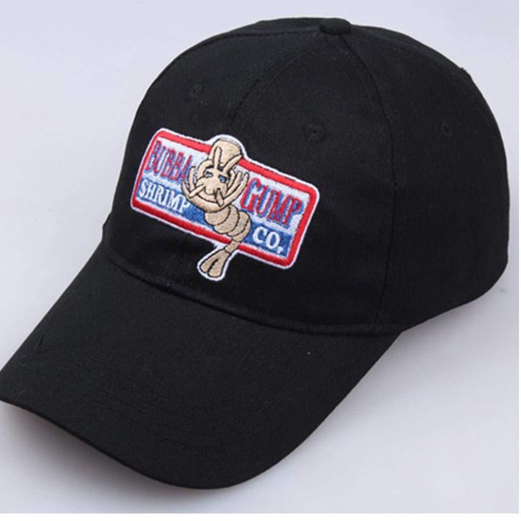 Ajustable Unisex Gorra De B/éisbol Bubba Gump Shrimp Co Bordado Curva Sombrero De ala para Las Mujeres De Los Hombres Traje De Cosplay