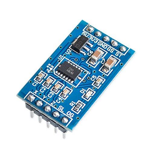 MMA7361(REPLACE MMA7260)加速度センサーモジュールSCA-1717