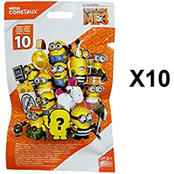 Amazon.com: Despicable Me Mega Construx Minions 3 Series 11 ...