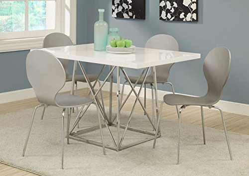 Monarch Bentwood Dining Chairs - Grey - Set of 4