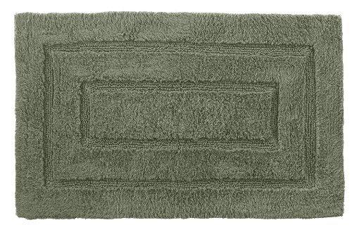 Kassatex Kassa Design Bath Rug, 24 by 40-Inch, Moss (Green Rug Moss)