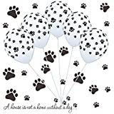 Holicolor 12inches 100pcs Colorful Latex Paw...