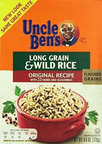 Rice: Uncle Ben's Long Grain & Wild Rice