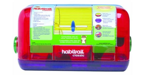 HABITRAIL Jaula para Hámster: Amazon.es: Productos para mascotas