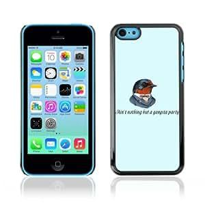 YOYOSHOP [Funny Gangsta Bird] Apple iPhone 5C Case