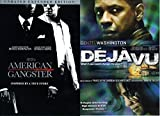 Denzel Washington Double Feature Film Pack - American Gangster & Deja Vu (2-DVD Set)
